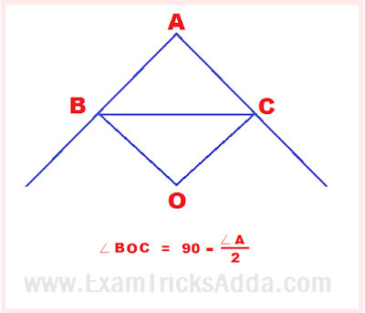 Important Facts Related to     Triangles For Compatetive Exams