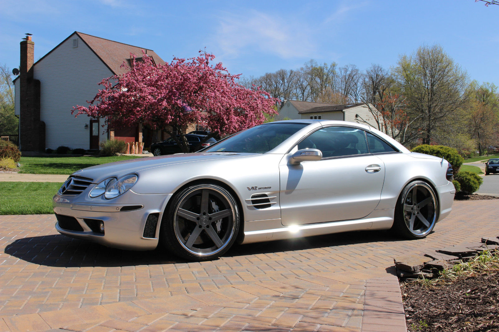 2005 Mercedes Benz R230 Sl65 Amg On 20 Quot D2 Forged Wheels