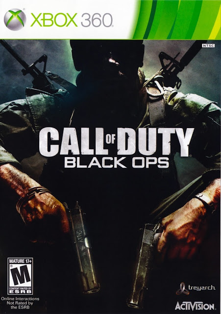 Call Of Duty Black Ops - Xbox 360 - Portada