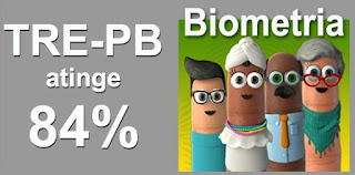 TRE-PB atinge 84% e supera meta da biometria