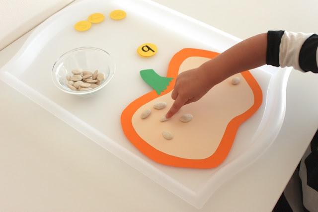 pumpkin seed activities for kids