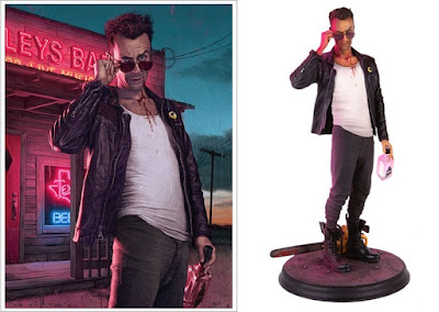 AMC's Preacher Television Series Cassidy Polystone Statue by Mondo x Rory Kurtz