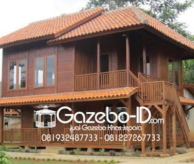 Gazebo Rumah Panggung 6x8