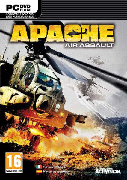 Apache Air Assault PC ISO Español