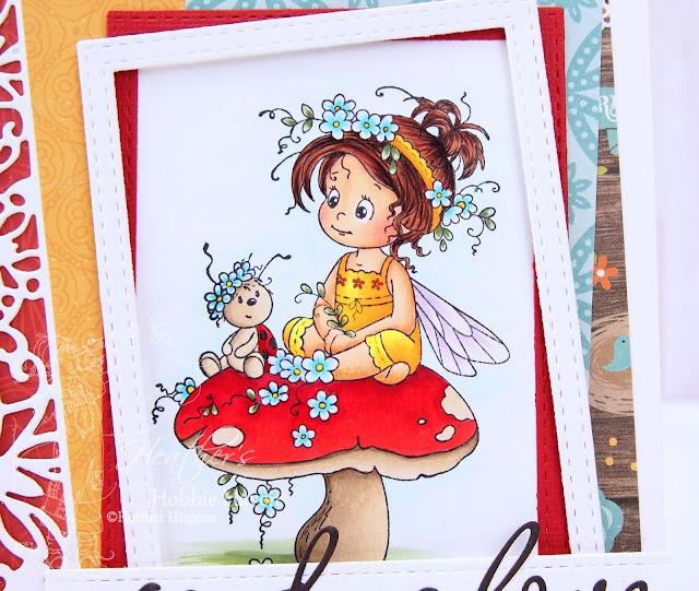 Heather's Hobbie Haven  - Poppy Card Kit