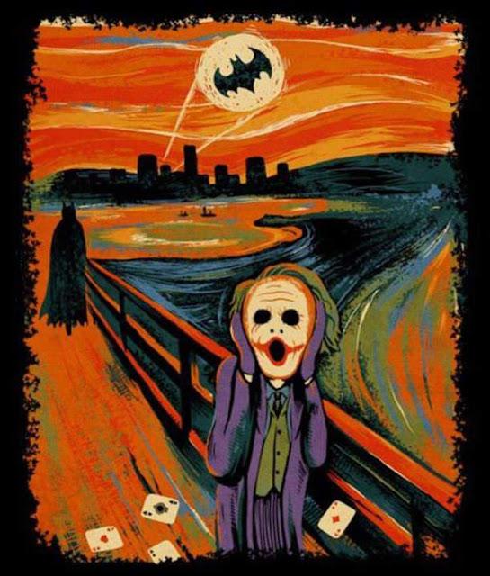 El grito de Munch - Versión Batman