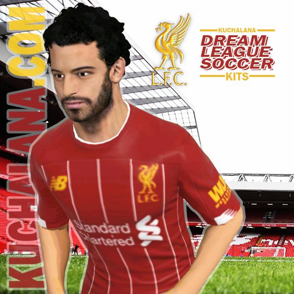 newest ac7a4 91d3d Liverpool FC 2019/2020 Kit - Dream League Soccer Kits ...