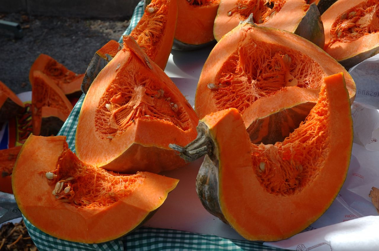 Pumpkin Stall at Monistrol de Montserrat