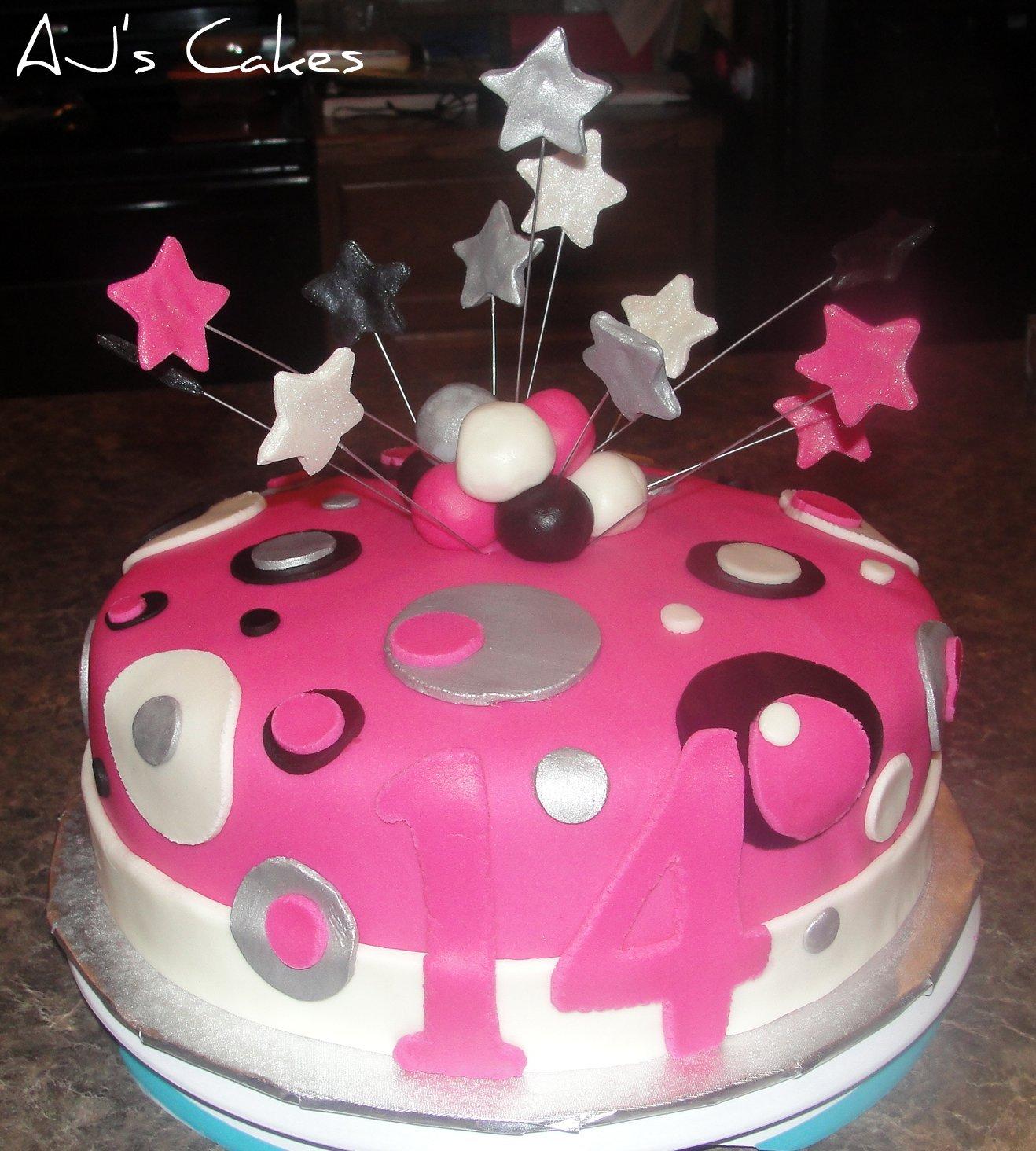 AJ's Cakes: Katie's Birthday Cake