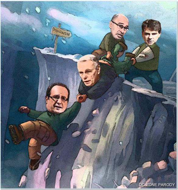 photo politique drole hollande