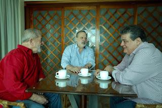 Em café da manhã, Armando e Lula avaliam conjuntura nacional
