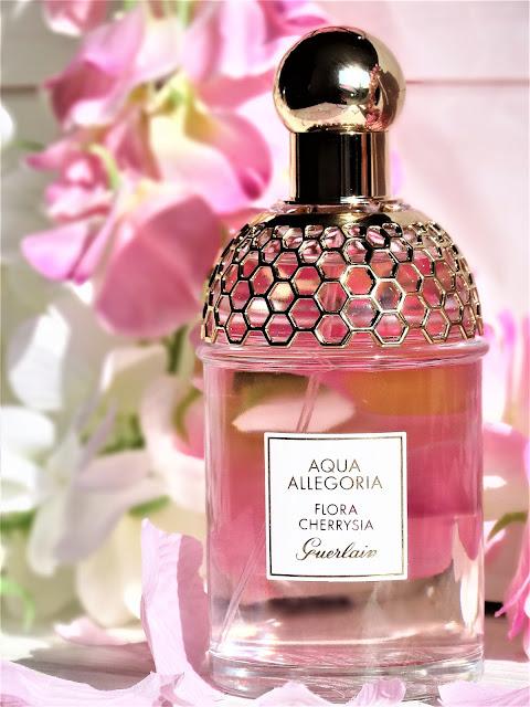 avis aqua allegoria guerlain, flora cherrysia guerlain, parfum fleur de cerisier, avis aqua allegoria flora cherrysia guerlain