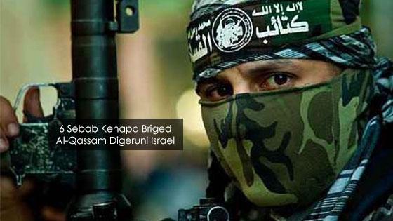 6 Sebab Utama Kenapa Israel Kecut Perut Bila Dengar Nama Al-Qassam