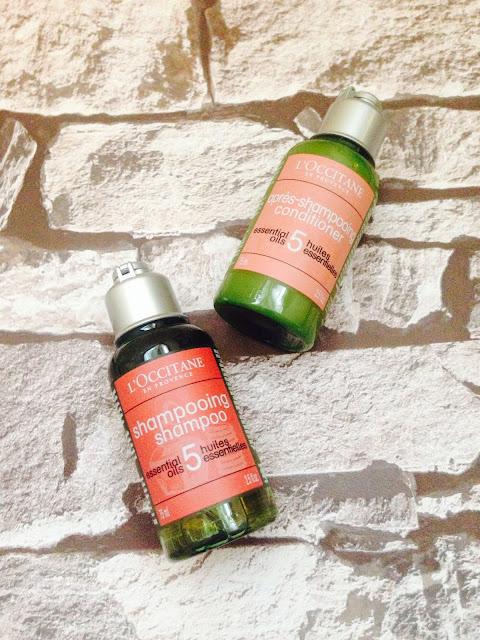 L'occitane 5 Essential Oils Shampoo & Conditioner Review