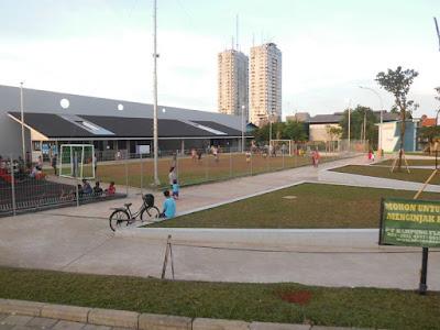 Lapang Futsal Taman RPTRA Kali Jodo Jakarta