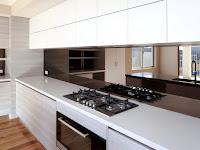 Ingin Dapur kita Tampak Glamor? Tambahkan Cermin