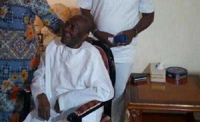 Sick Arthur Nzeribe's photo goes viral