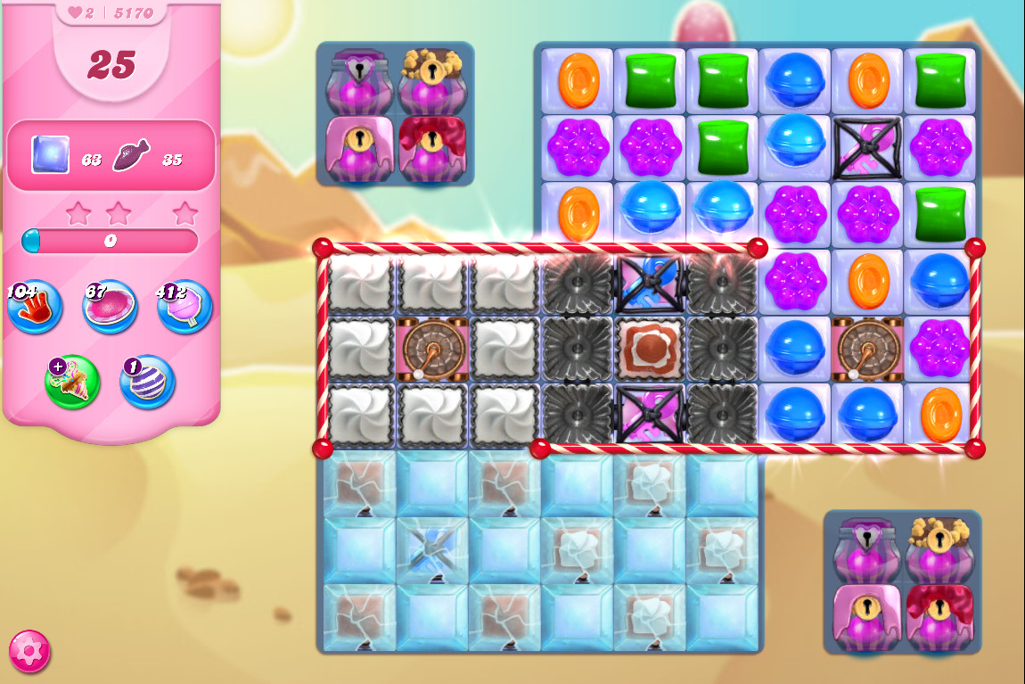 Candy Crush Saga level 5170