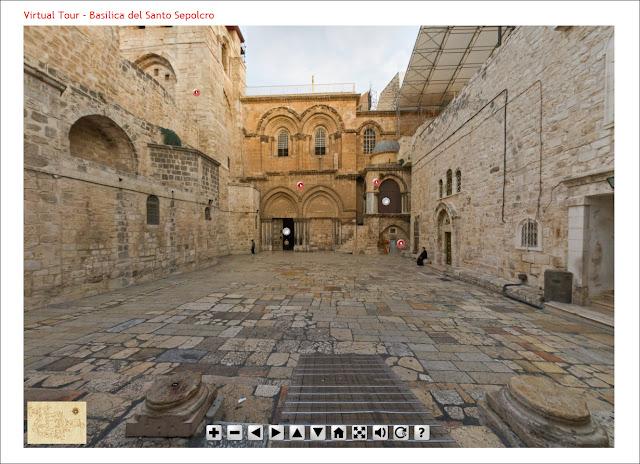 Visite virtuelle du Saint Sépulcre