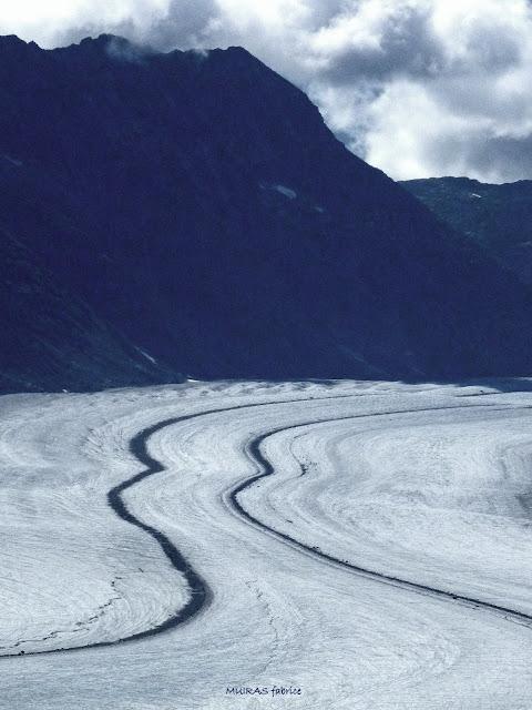 glacier en suisse jungfrau