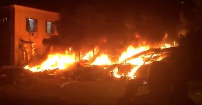 انفجار ضخم بإسرائيل نتج عنه 19 قتيلا وجريحا