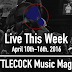Live This Week: April 10th-16th, 2016