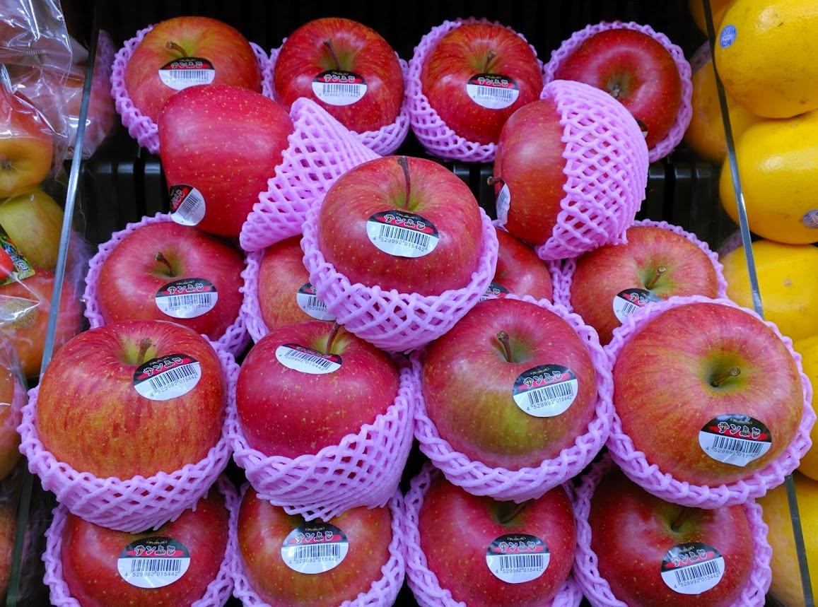 Tem que manter as maçãs seguras .. elas são especiais.