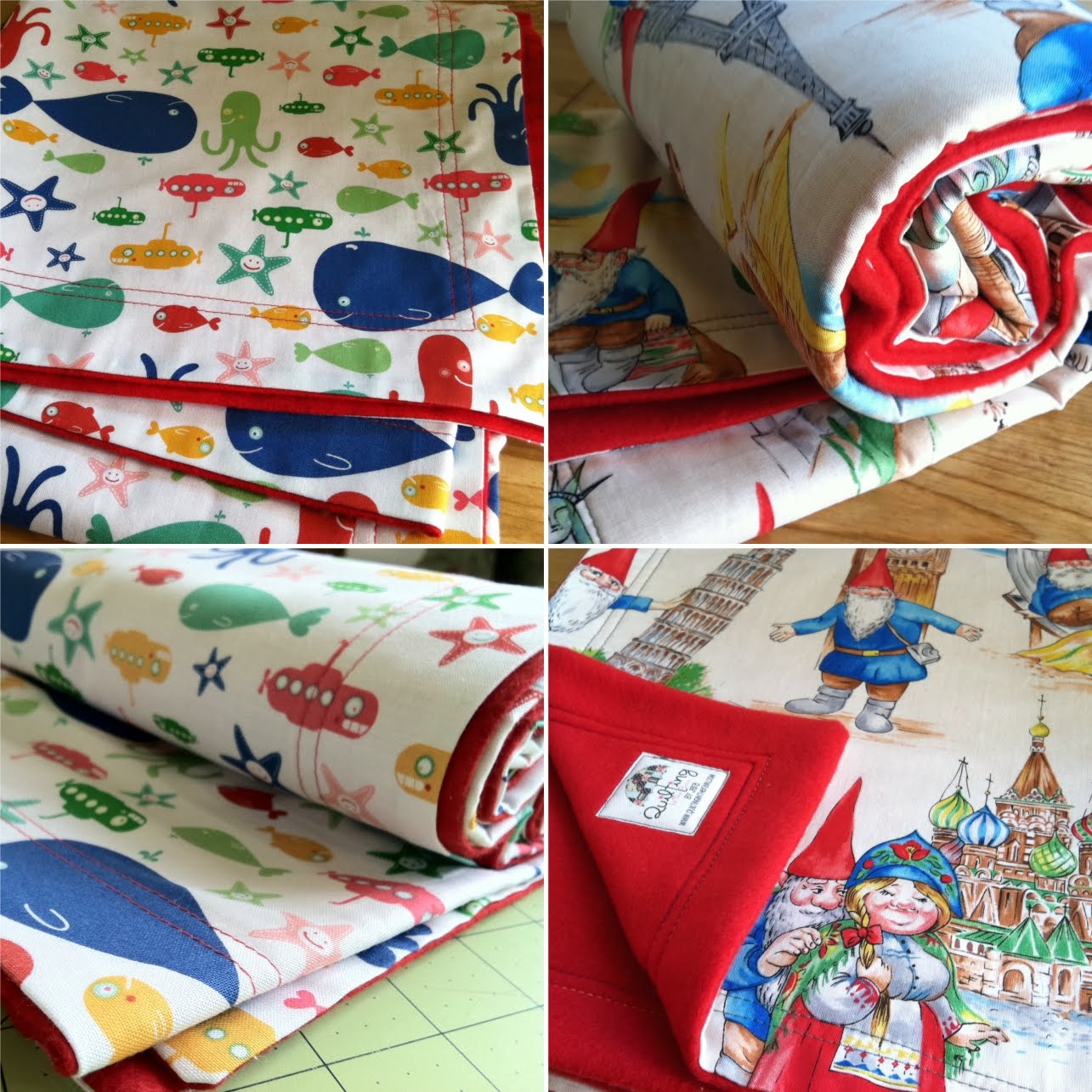 Easy Baby Blankets! | Quilting in the Rain