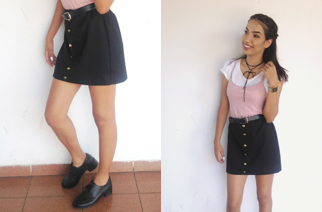 look com slip dress