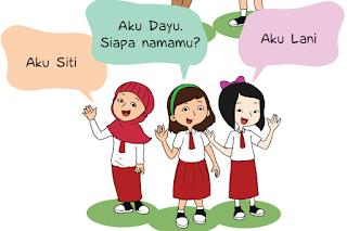 Contoh Soal dan Kunci Jawaban Kelas 1 SD Kurikulum 2013