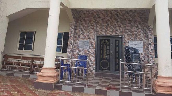 Eight dead in Nigeria church gun attack