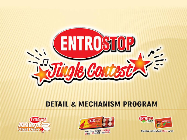 ENTROSTOP JINGLE CONTEST