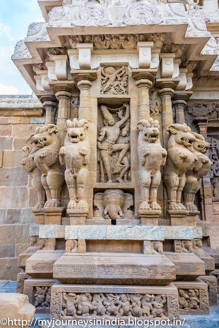 Kanchipuram Kailasanathar Temple Sculptures