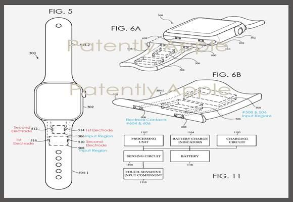 komponen applewatch
