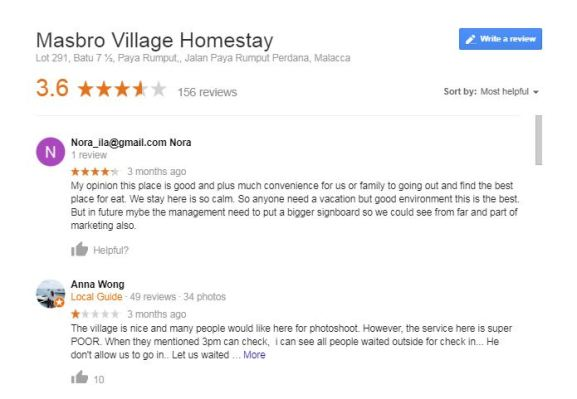 review masbro village homestay