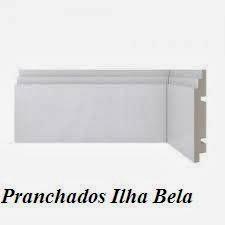 Rodapé de Poliestireno Santa Luzia 464 Branco