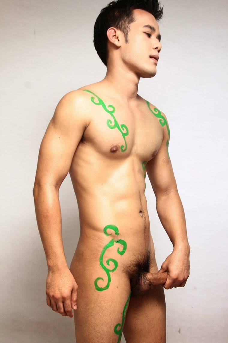Thai gay model nude