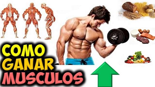 Dieta para bajar de peso y hacer masa muscular
