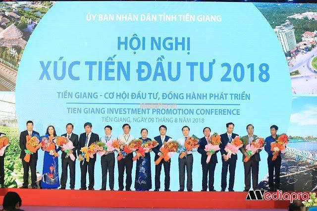 Tổ Chức Hội Nghị Xúc Tiến Đầu Tư Tỉnh Tiền Giang