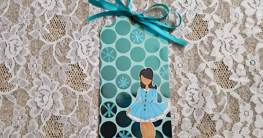 Julie Nutting Doll Stamp Collaboration - January 2017