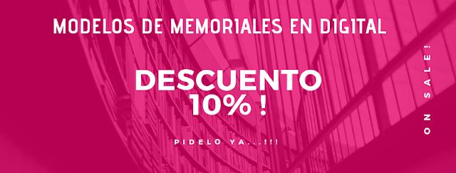 COMPRAR MODELOS DE  MEMORIALES EN BOLIVIA
