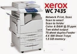 Color Multifunction Copier is ane of Xerox workhorse business office printing machines Download Xerox WorkCentre 7435 Printer Driver