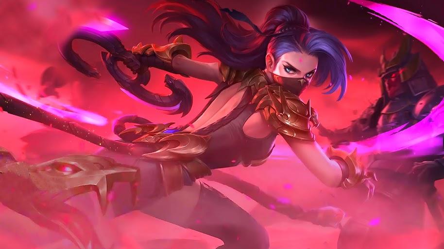 Hanabi, Viper, Skin, Mobile Legends, 4K, 65 Wallpaper-4071