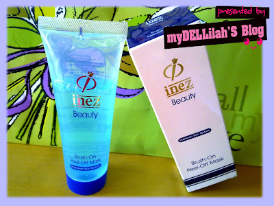 Inez Brush On Peel Of  Mask