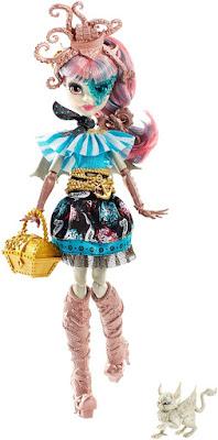 TOYS : JUGUETES - MONSTER HIGH Shriek Wrecked - Rochelle Goyle : Muñeca - Doll Producto Oficial 2016 | Mattel DTV89 | A partir de 6 años Comprar en Amazon España & buy Amazon USA