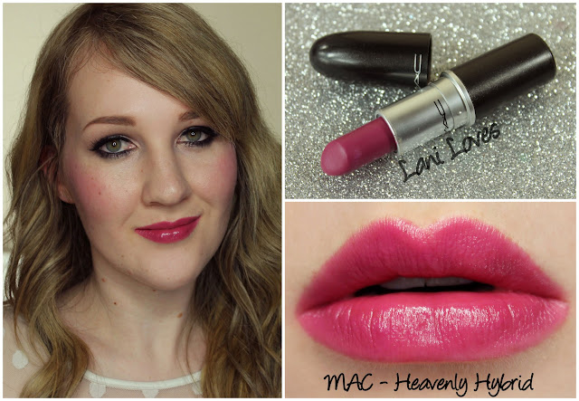 MAC Heavenly Hybrid lipstick swatch
