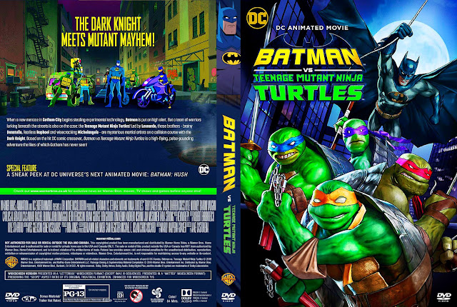 Batman vs. Teenage Mutant Ninja Turtles DVD Cover