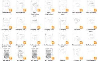 محاضرات ميكانيكا التربة والاساسات pdf
