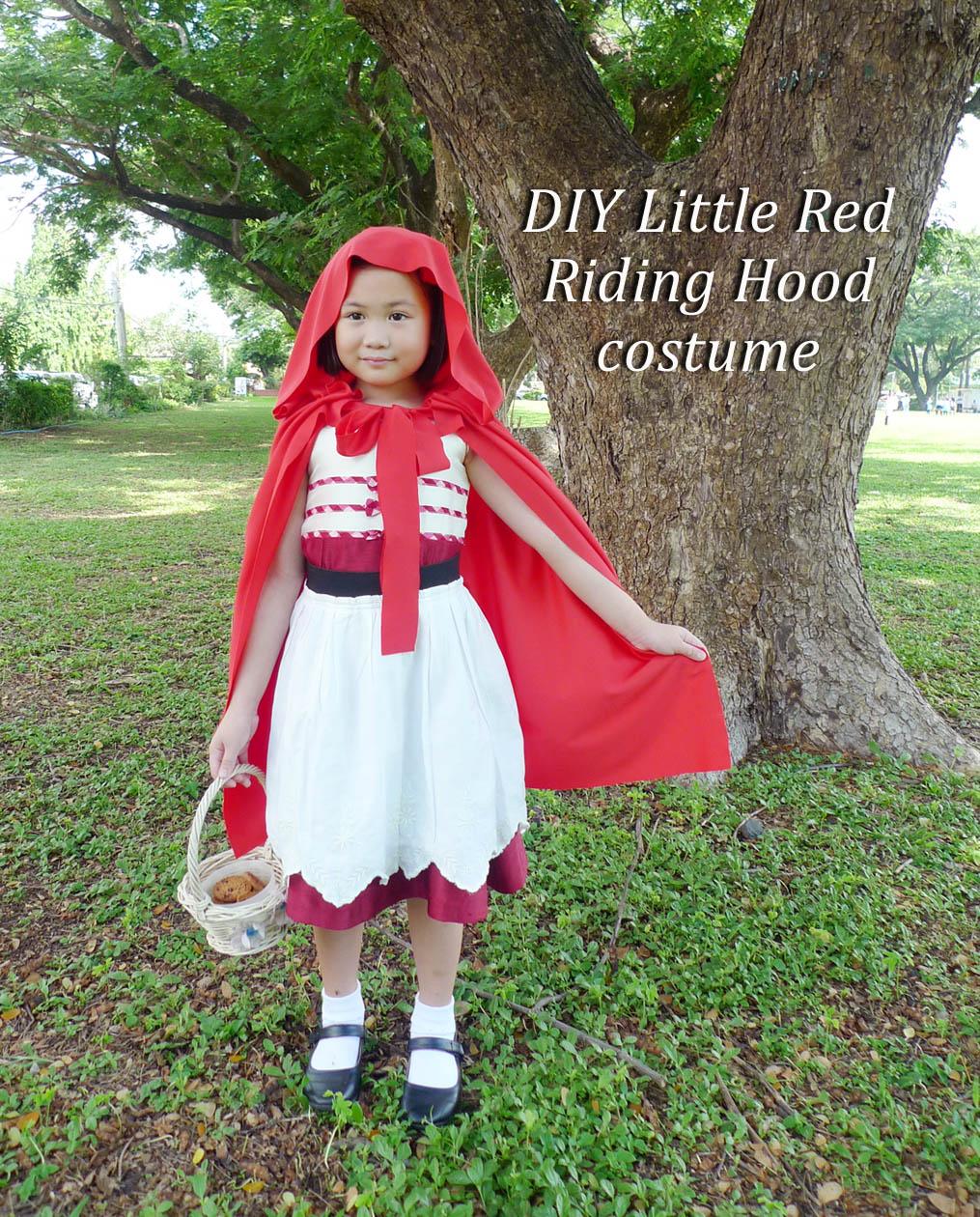 Mrsmommyholic Diy Little Red Riding Hood Costume