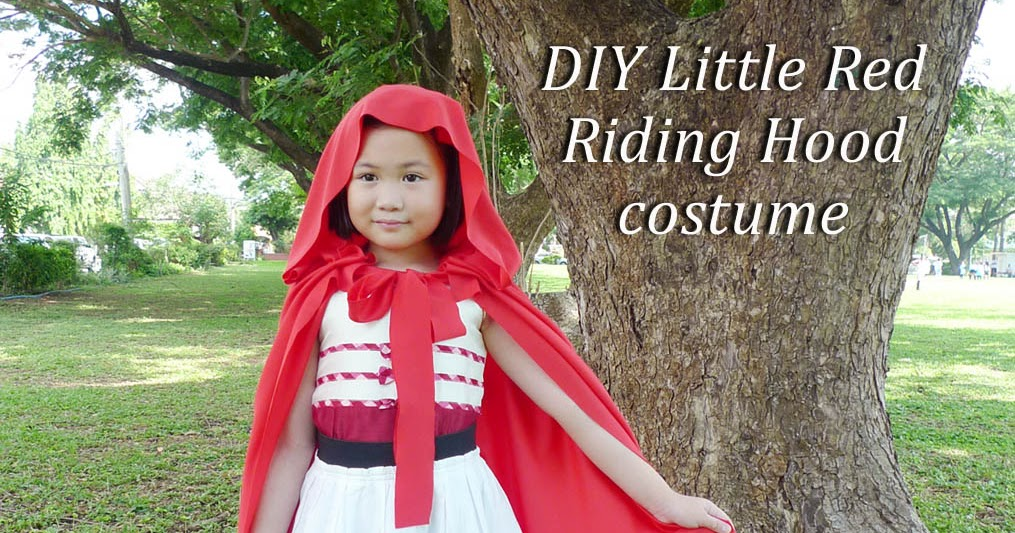 MrsMommyHolic: DIY Little Red Riding Hood Costume